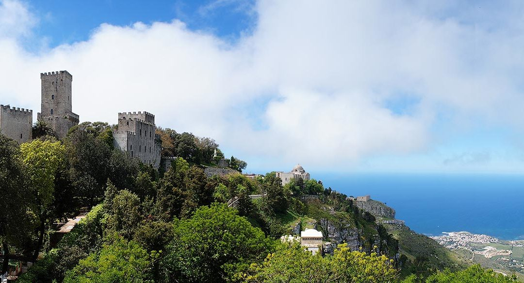 Visiting the medieval town of Erice