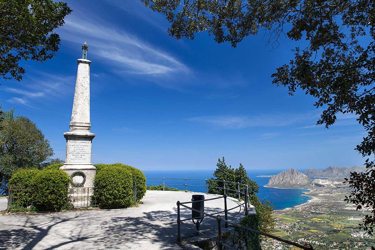 View of Monte Cofano