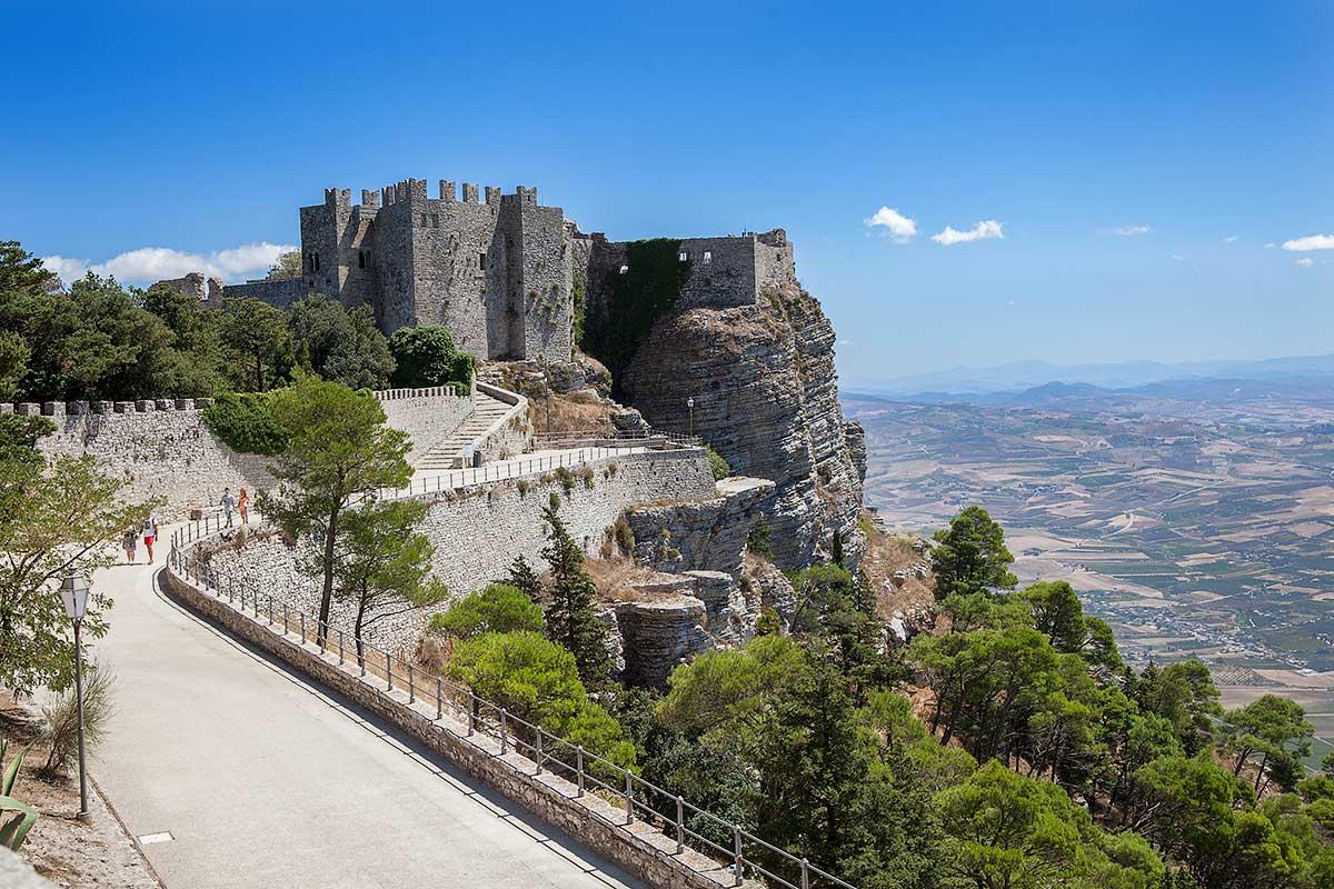 The Castello di Venere in Erice