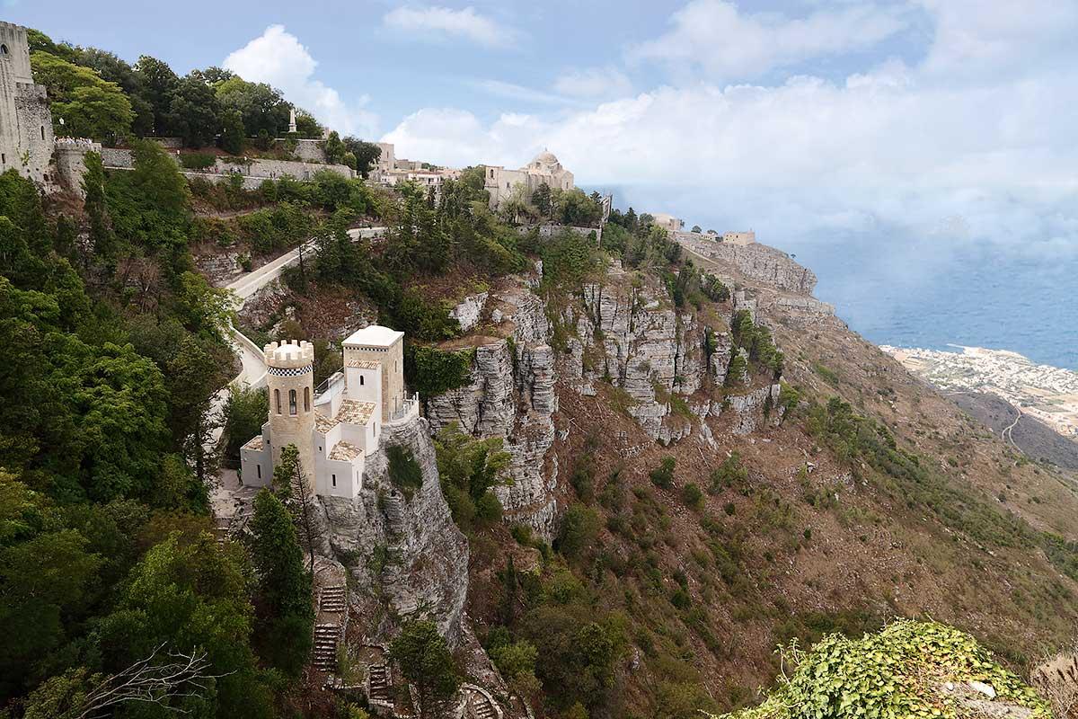 The recently restored Torretta Pepoli