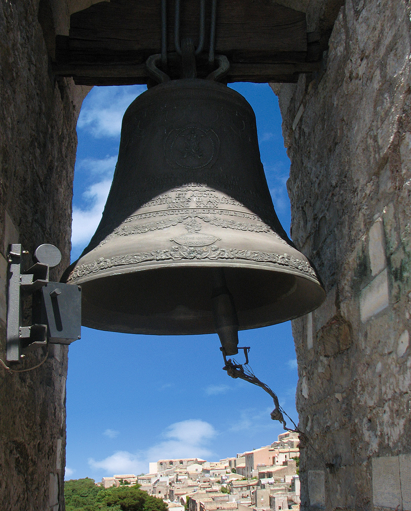 In the bell tower of Erice