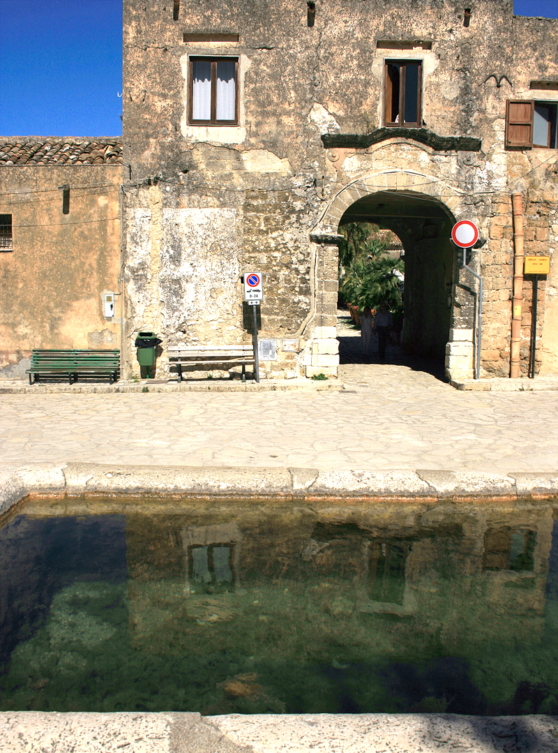 The old baglio in Scopello