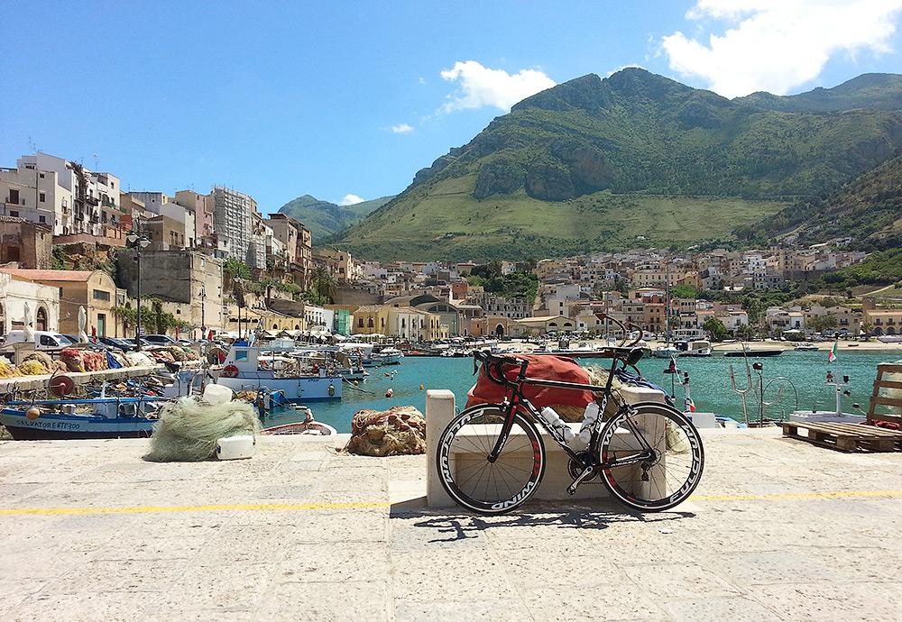 In the harbor of Castellammare del Golfo