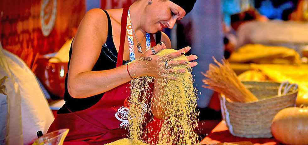 During the Couscous fest in San Vito lo Capo
