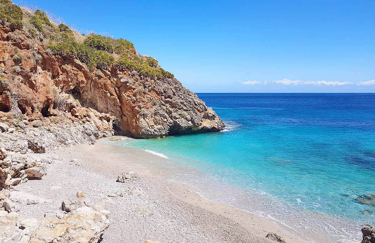 De prachtige Capreria baai