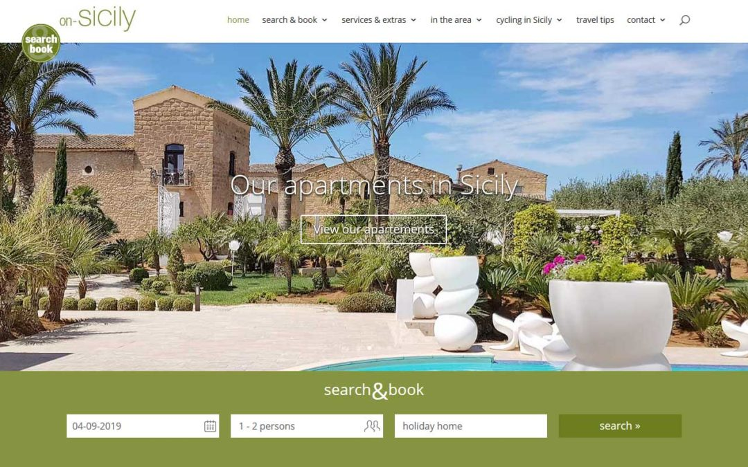 Search & book an accommodation in Sicily
