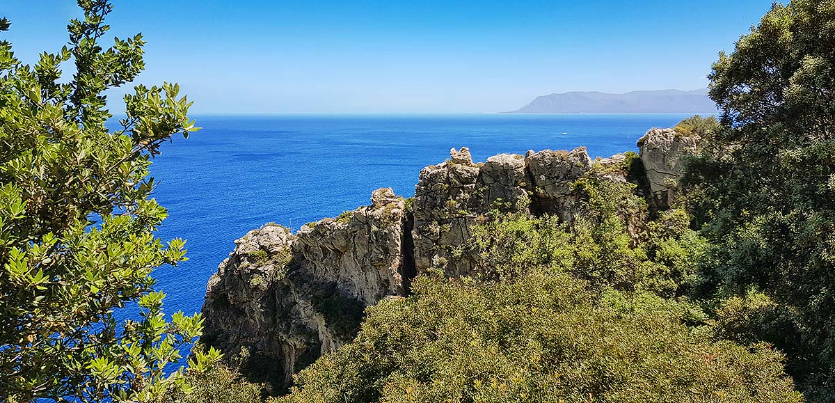 Sea view near Punta Leone