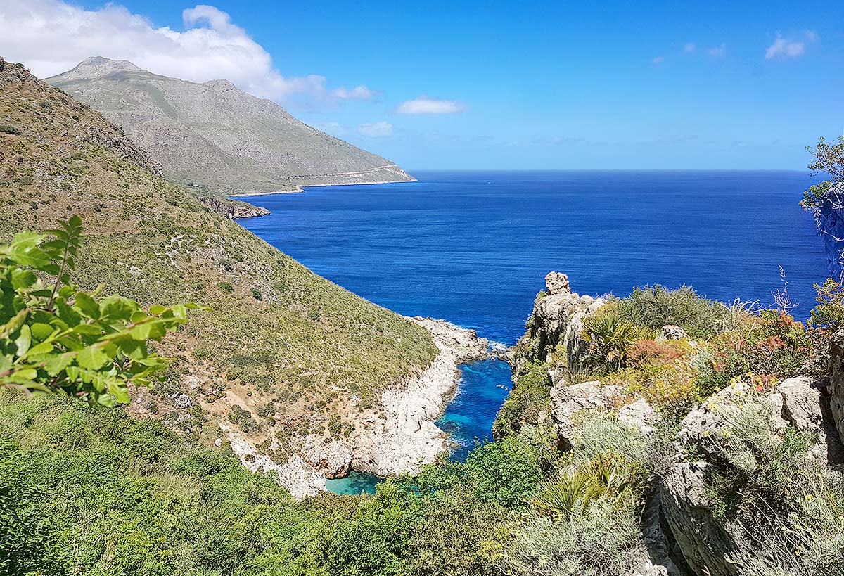 The view near Punta Leone